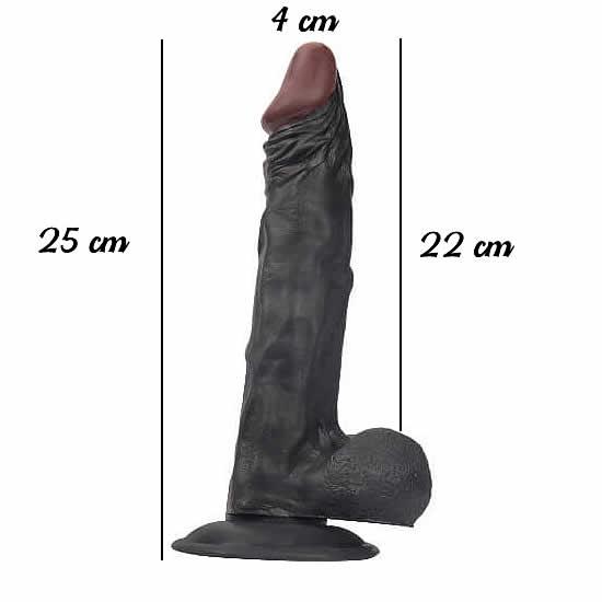 25 cm zenci penis