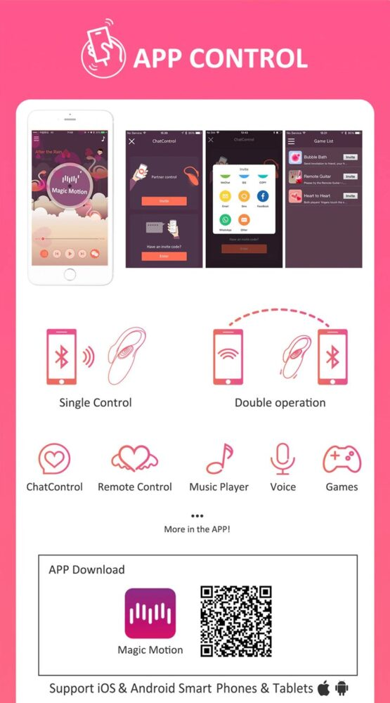 flamingo akıllı telefon uyumlu vibratör