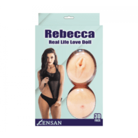 Rebecca realistik vajinalı şişme bebek